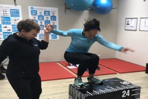 sportschool smallgroup training samen fit