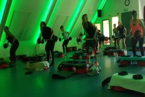 sportschool Argendos Body Pump techniek